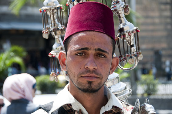 Juice seller, Damascus